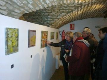 Inauguración de la exposición de Lolo Cordero en Trigueros.