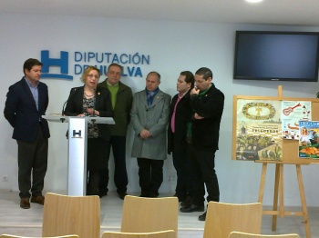 Presentación de las fiestas de San Antonio Abad en la Diputación