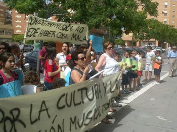 Manifestación Conservatorio Trigueros