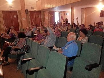 Asistentes a la Conferencia Provincial