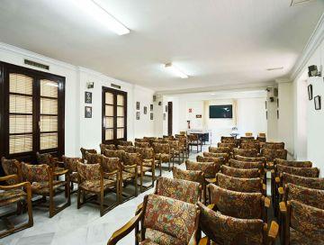 Sala del interior del Casino de Trigueros.