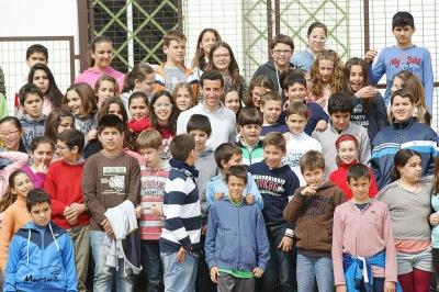 Encuentro David de Miranda con escolares