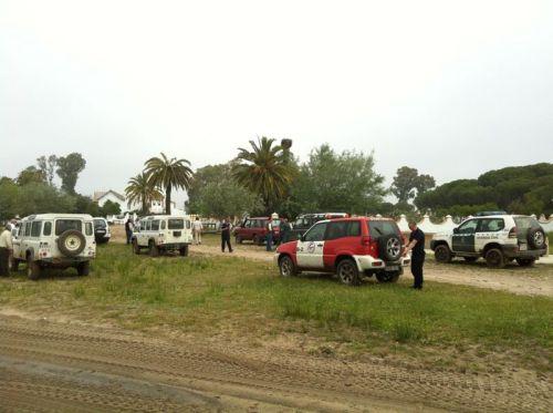Los bomberos participaron en el rescate.