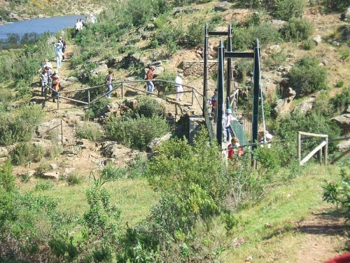 En Paymogo es habitual ver senderistas por su término municipal haciendo diferentes rutas.
