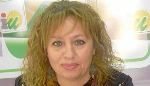 Victoria-Caro-portavoz-IU-en-Trigueros